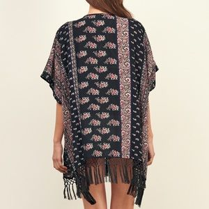 Abercrombie and fitch pattern kimono cover up